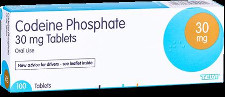 Codeine Phosphate 30mg